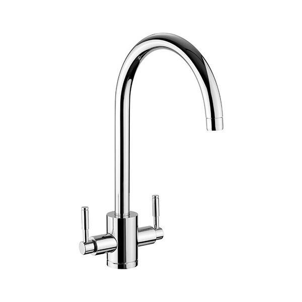 Rangemaster Aquatrend 1 Brushed Stainless Steel Tap Product Image
